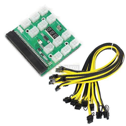 Buy Breakout Board For Gpu Mining 12pcs 6pin Cables In