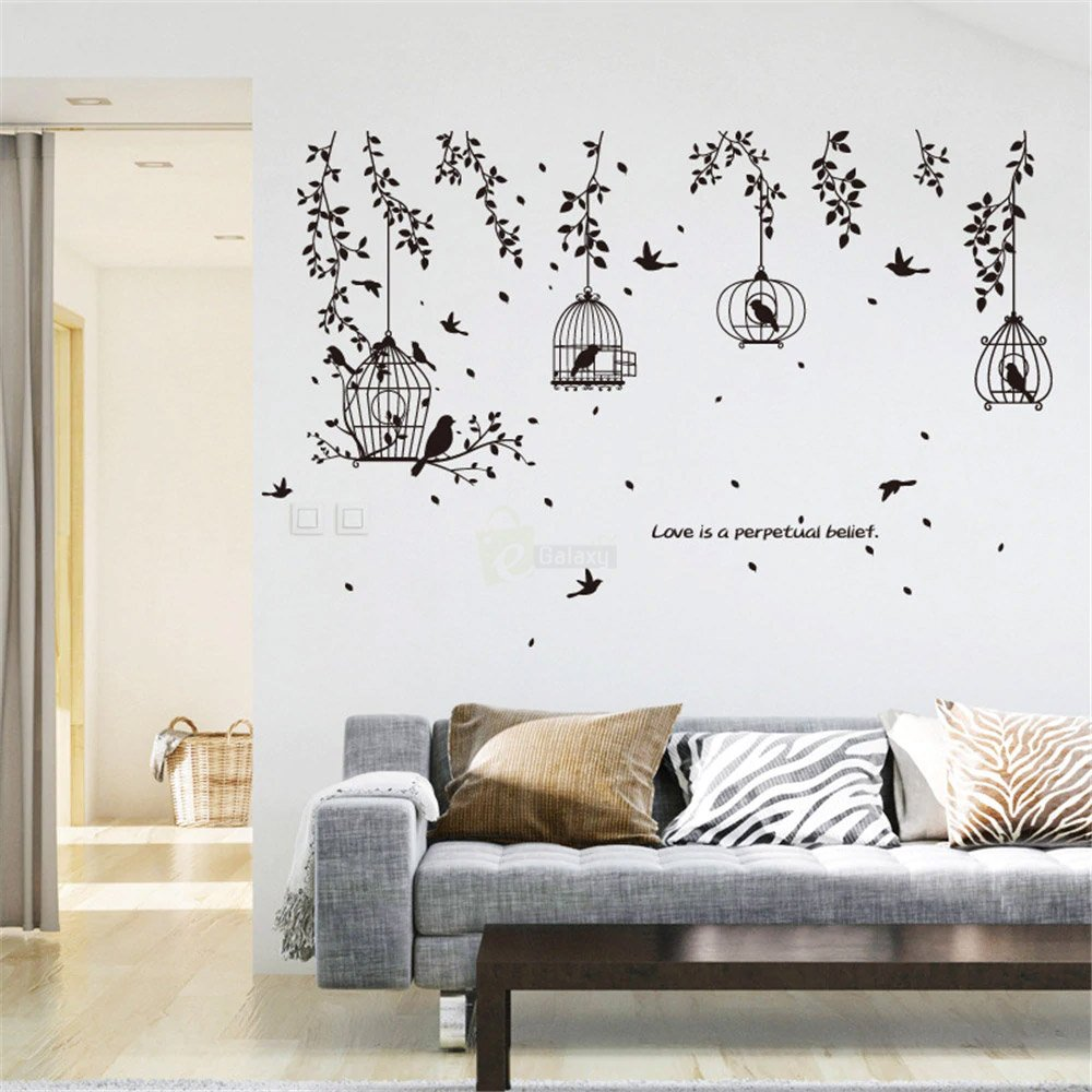 Wallpaper Stickers For Drawing Room