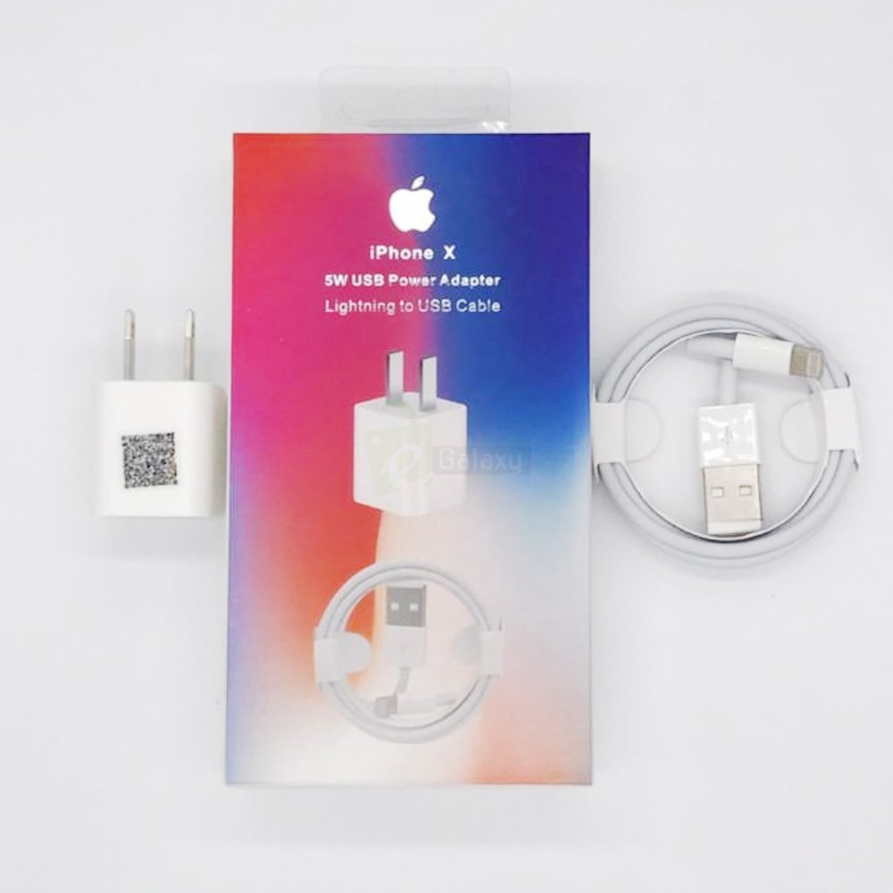 iPhone mobile charger 5W combo USB Adapter with cable , A1399