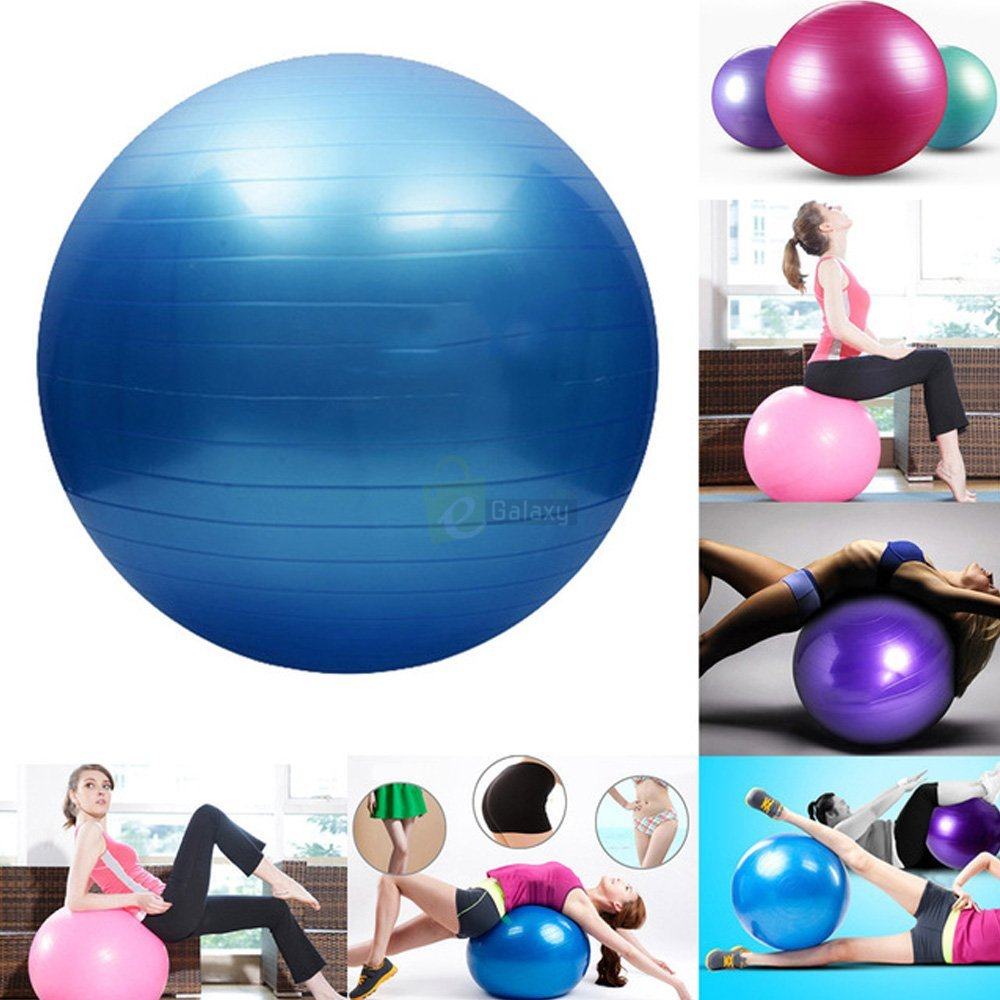 King Lion 75cm Gym Ball Imported Anti Burst features