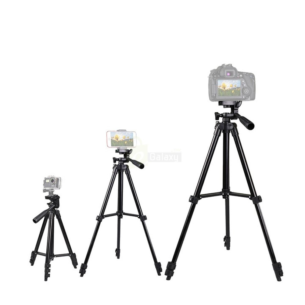 Tripod Stand 3120 for camera and mobiles different sizes